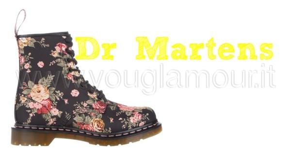 Dr Martens collezione 2015 per uno tocco rock al tuo stile