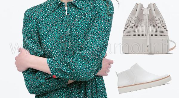 Zara primavera 2015: caftani e camicioni
