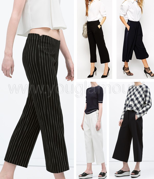 Come indossare il pantalone cropped