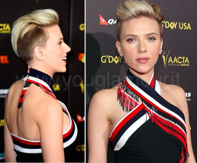 4a92e5f5746 Nuovo look per Scarlett Johansson: pixie con ciuffo