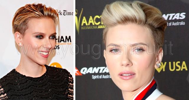 Nuovo look per Scarlett Johansson