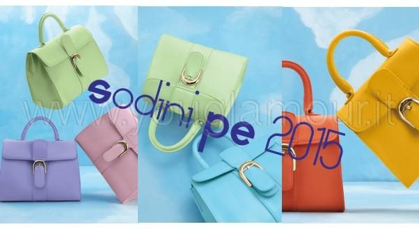 Sodini collezione borse primavera estate 2015