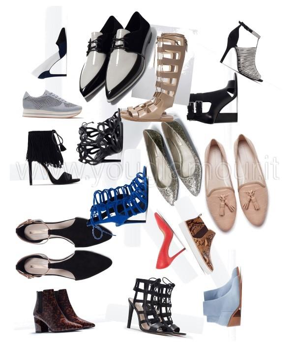 Zara collezione scarpe primavera estate 2015