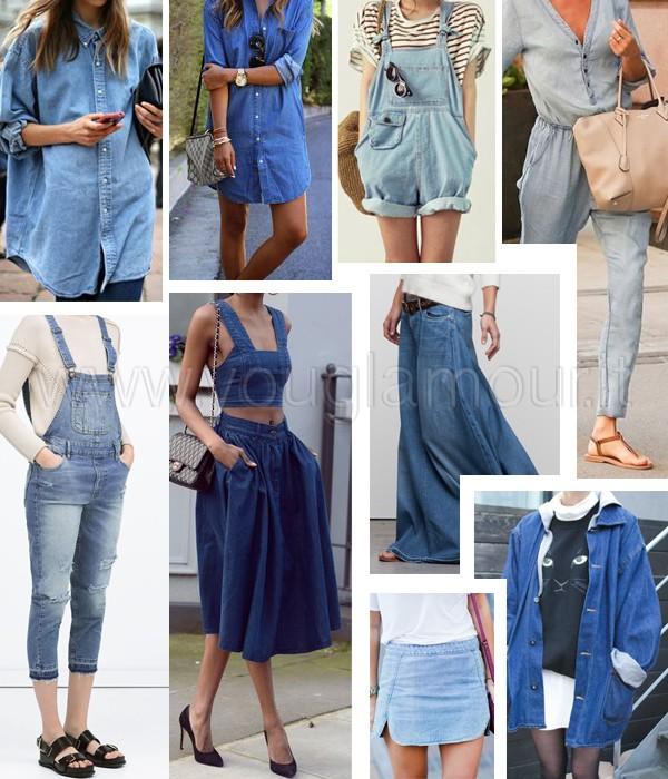 Tendenza moda primavera 2015: mille modi di dire…denim!