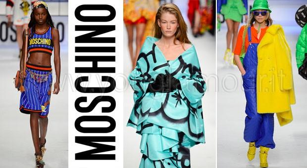 Moschino collezione autunno inverno 2015-2016