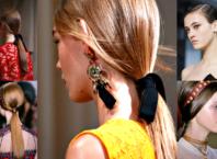 Coda di cavallo bassa il trend 2018 dell'acconciatura capelli