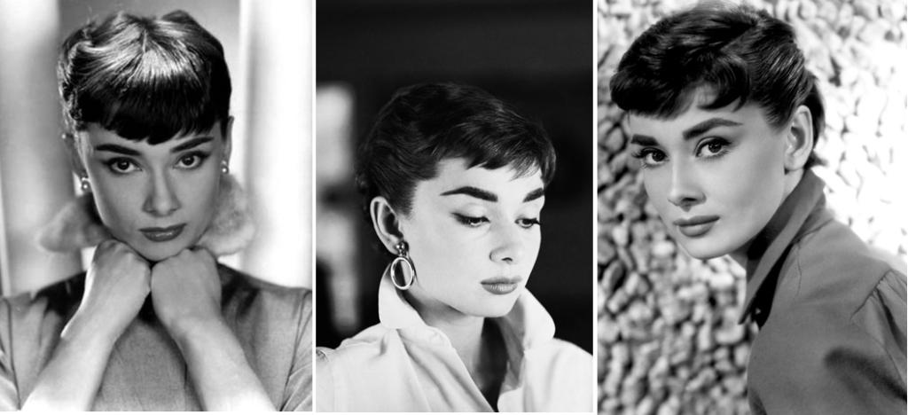 Audrey Hepburn sopracciglia perfette