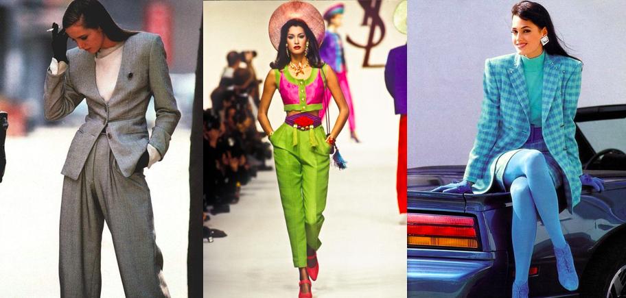 Moda e stile anni '80 colori vitaminici ovunque