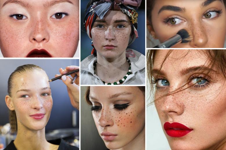 Come accentuare le lentiggini con il make up