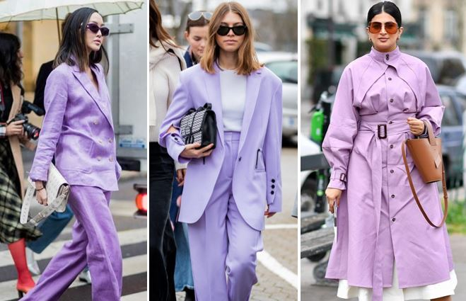 Millennial purple come indossarlo