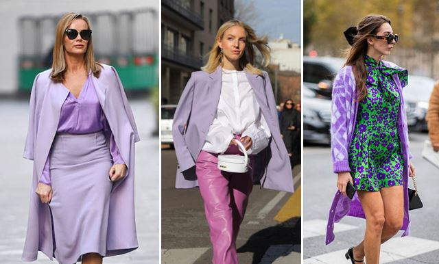 Millennial purple idee di look
