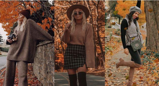 Outfit per la montagna e vedere il foliage in Italia