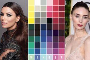 Palette winter armocromia
